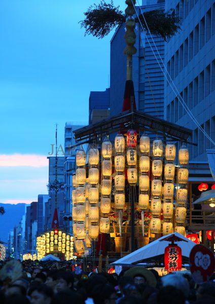 長刀鉾・夜・宵山・前祭